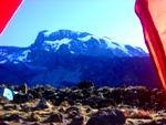 Kilimanjaro from Barranco Camp