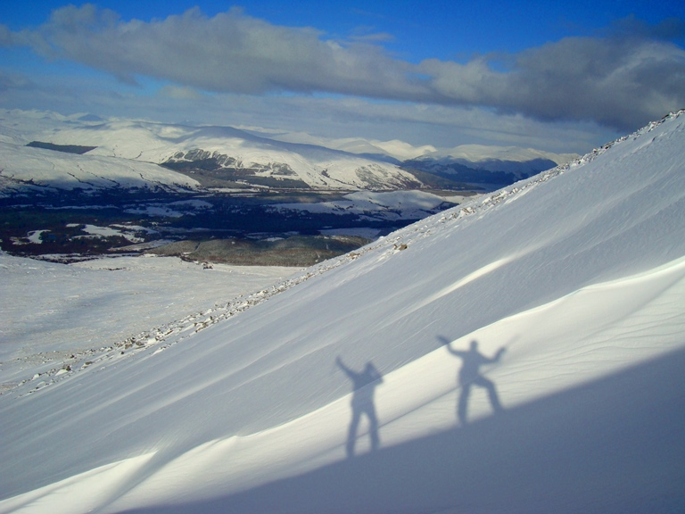 Scottish winter skills courses