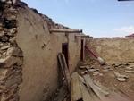 Building damage in Goli