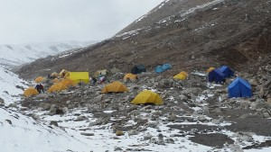 Island peak base camp 2015