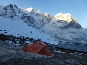 View of Mera peak