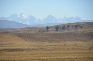 Mt. Tarija from a distance