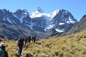 The trek into Mt. Tarija
