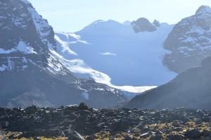 Mt Tarija from base camp