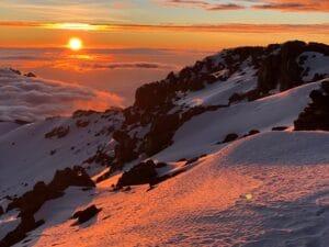 That magic moment on Kilimanjaro