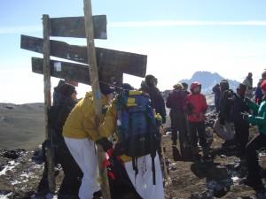 Climbing Kilimanjaro with Ian Taylor Trekking