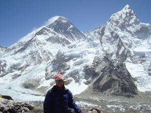 The view of Everest from Kala Phattar