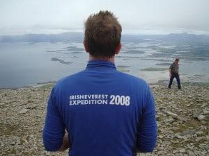 Training on Croagh Patrick