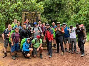 The Start of the Lemosho Route