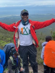 Athumani, our Number One Guide on Kilimanjaro