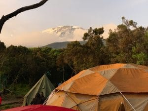 Your final views of Kilimanjaro on the mountain
