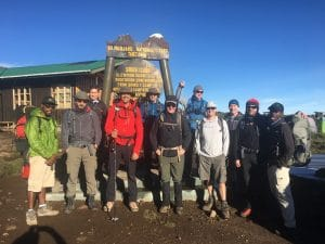 Reaching Shira Camp 1 on Kilimanjaro