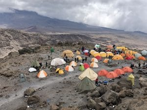 The Launch Pad for our Summit night on Kilimanjaro