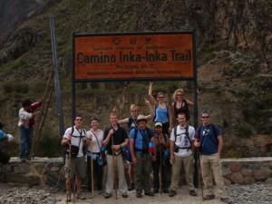 Inca trail in 2005