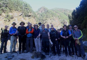 AIB Everest base camp Trek 2015