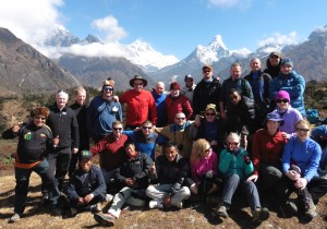 AIB group on Shangbouche hill