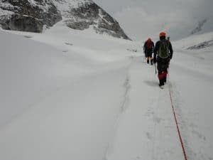 Moving to Mera Peak Base Camp