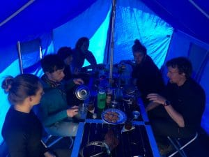 Dining Tent on Island Peak