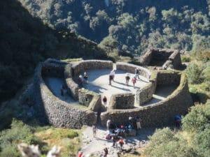 Runkurakay Ruin on the Inca Trail to Machu Picchu