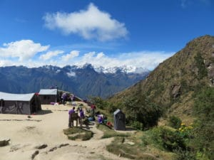 Beautiful Views from the Campsite on the Inca Trail
