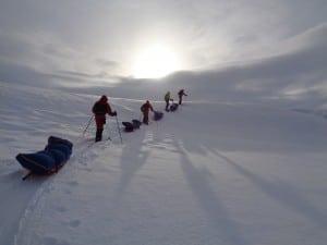 Crossing Svalbard