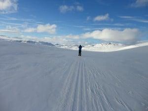 High on the Norwegian mountain plateau