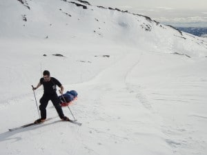 High training in the Norwegian mountains