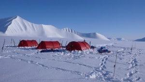 Camping on Svalbard