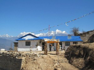 A school in Goli Village, Nepal.