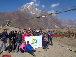 On the Everest trail to base camp