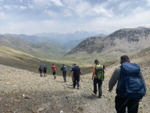 3,800m Pass on the eastern side of Mount Elbrus
