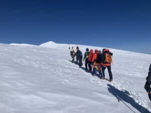 Almost at the Top of Mount Elbrus