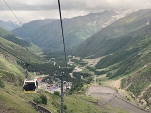 The Gondola on Mount Elbrus