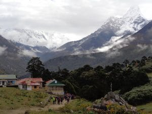 Tengbouche on the Everest Base Camp trail