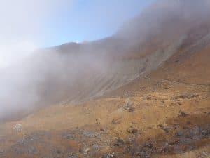 Beyond Chunbu Kharka 4,200m/ 13,779ft.