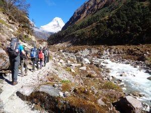 Trekking from Khote to Tangnag