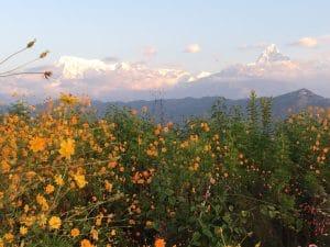 Sunrise from Pokhara