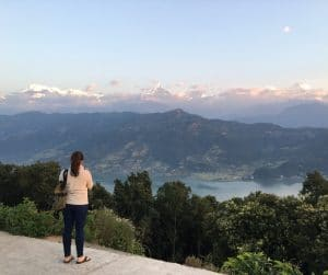 The whole Annapurna range