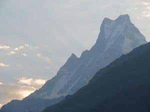Fishtail Mountain in Nepal