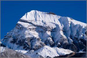 The summit of Tent Peak 5,696m
