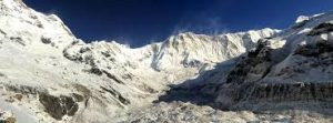 way to tent peak (Annapurna base camp)