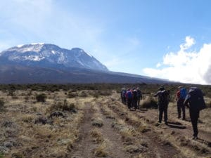 What is the best route to climb Kilimanjaro in Tanzania