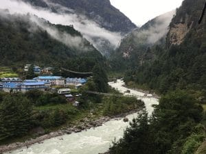 The Trek into the Everest Region
