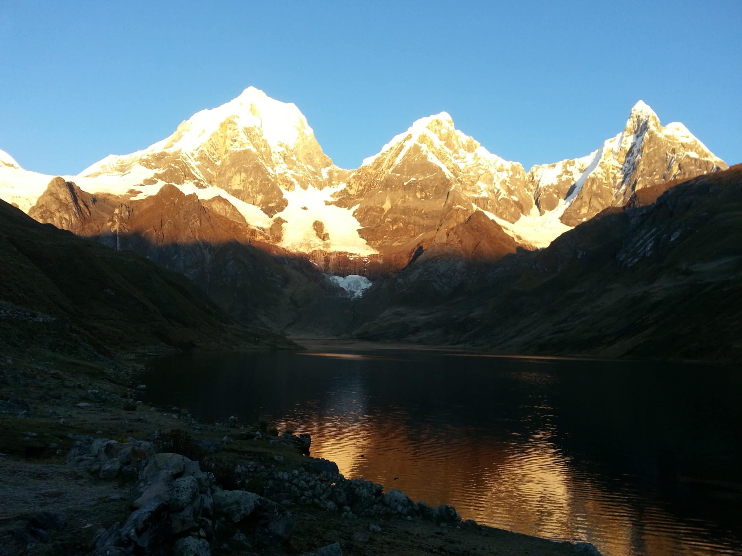 Climbing Huascaran in Peru