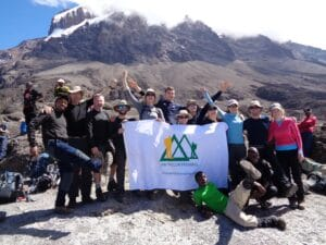 The top of the Barranco Wall