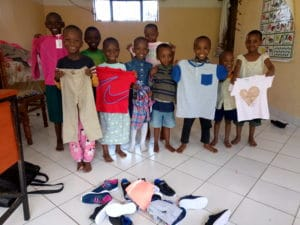 Children at the Orphanage in Arusha