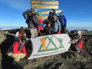The Summit of Kilimanjaro!