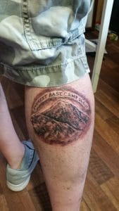 Getting the Everest Base Camp Tatoo