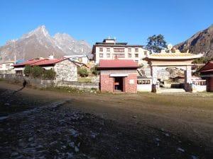 The famous Tengbouche Monastery