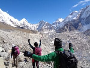 Getting closer to Everest Base Camp